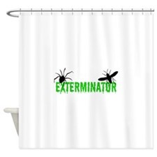 Exterminator Shower Curtain