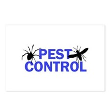 Pest Control Postcards (Package of 8)
