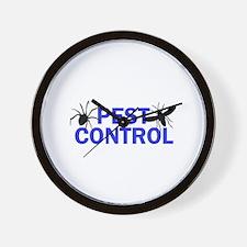 Pest Control Wall Clock