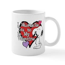 Snoopy - Mustache You Mugs