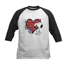 Snoopy - Mustache You Baseball Jersey