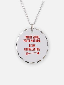 Be My Anti Valentine Necklace