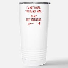 Be My Anti Valentine Ceramic Travel Mug