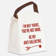 Be My Anti Valentine Canvas Lunch Bag
