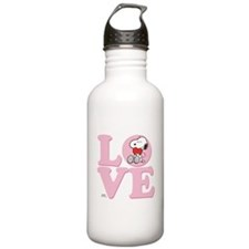 LOVE - Snoopy Water Bottle