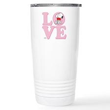 LOVE - Snoopy Travel Mug