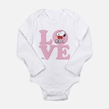 LOVE - Snoopy Body Suit