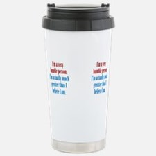 Unique Narcissistic Travel Mug