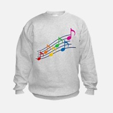 Rainbow Music Notes Jumpers