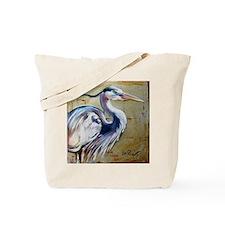 Unique Blue heron Tote Bag