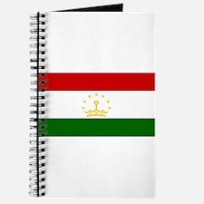 Tajikistan Flag Journal