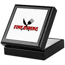 Fine Dining Keepsake Box