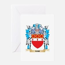 Nair Coat of Arms - Family Crest Greeting Cards