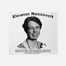 Eleanor: Peace Throw Blanket