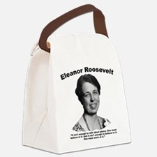Eleanor: Peace Canvas Lunch Bag