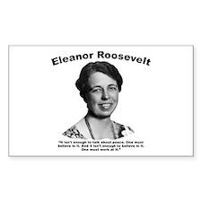 Eleanor: Peace Decal