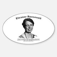 Eleanor: Peace Sticker (Oval)