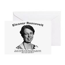 Eleanor: Peace Greeting Card