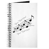 Music Journals & Spiral Notebooks