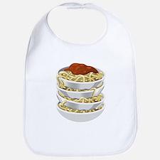 Bowls Of Pasta Bib