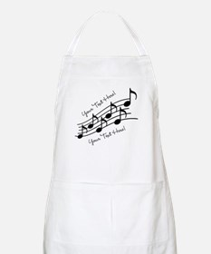 Music Notes PERSONALIZED Apron