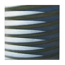 Aluminum Culvert Abstract (Photo) Decorative Tile