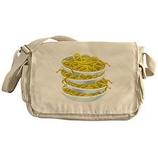 Bowls Of Noodles Messenger Bag