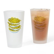 Bowls Of Noodles Drinking Glass