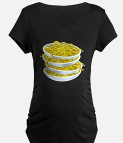Bowls Of Noodles Maternity T-Shirt