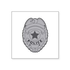 POLICE BADGE Sticker