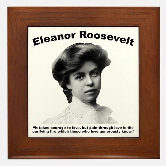 Eleanor: Love Framed Tile