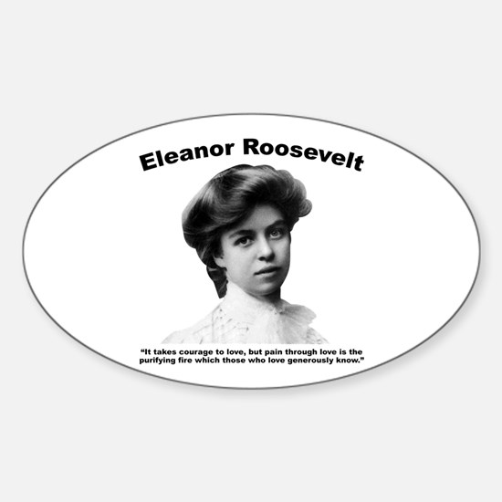 Eleanor: Love Sticker (Oval)