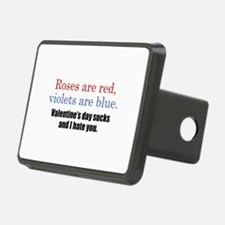 Roses Are Red Hitch Cover