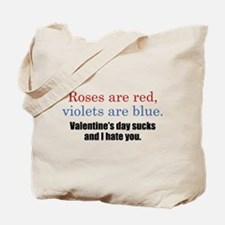 Roses Are Red Tote Bag