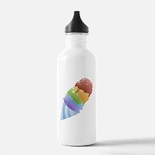 Rainbow Snow Cone Water Bottle