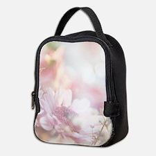 Dreamy Pink Daisy Neoprene Lunch Bag