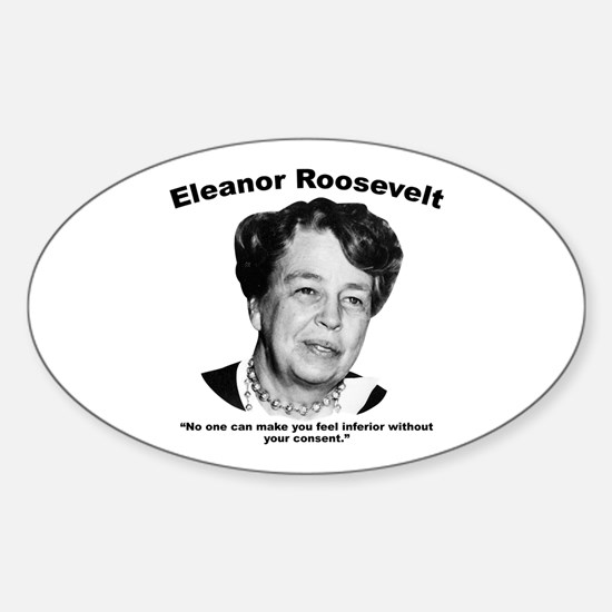 Eleanor: Inferior Sticker (Oval)