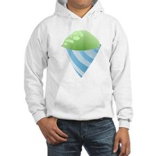 Green Snow Cone Hoodie