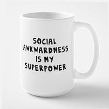 Social Awkward Large Mug