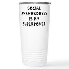 Social Awkward Travel Mug