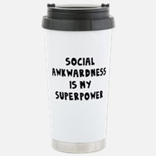 Social Awkward Travel Mug