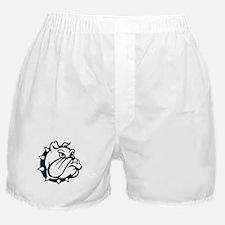 ONE COLOR BULLDOG Boxer Shorts