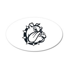 ONE COLOR BULLDOG Wall Decal