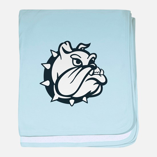 ONE COLOR BULLDOG baby blanket