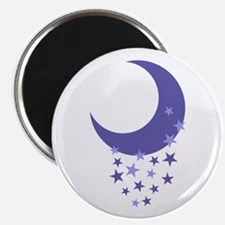 MOON AND STARS Magnets