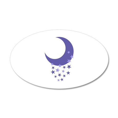 Moon and stars wall decal by greatnotions11 for Amazing look with moon and stars wall decals