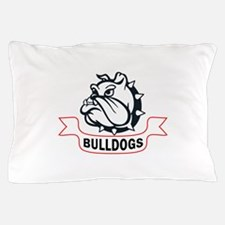 BULLDOG BANNER Pillow Case
