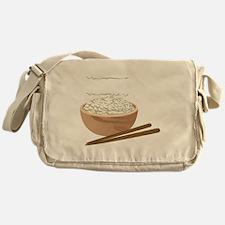 White Rice Messenger Bag