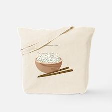 White Rice Tote Bag
