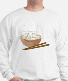 White Rice Sweatshirt